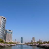 銀橋からの都島の風景