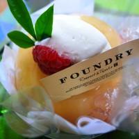 まるごと桃のデザート