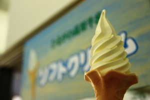 ひるがの高原牛乳ソフトクリーム