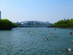水都大阪アクアスロン大阪城大会