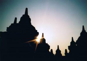 インドネシア ヴォロブドゥール遺跡