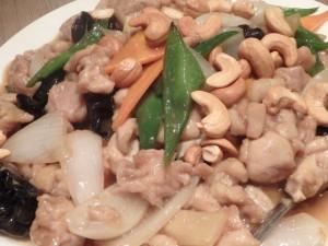 鶏肉とカシューナッツ醤油炒め