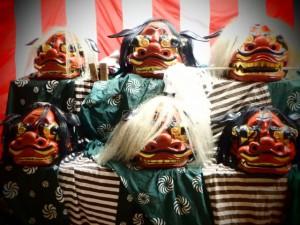 獅子舞 神須牟地神社