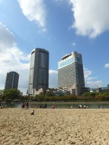 桜ノ宮ビーチ