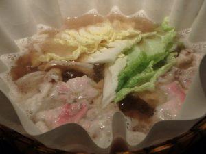 イベリコ豚のレタしゃぶ鍋