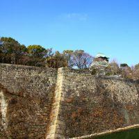 大阪城と石垣
