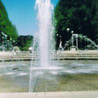 鶴見緑地 噴水広場