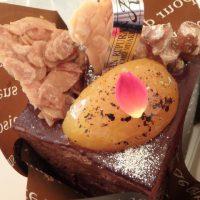 ジャンルプランのチョコレートケーキ