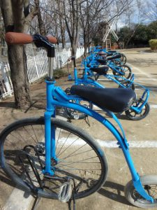 大仙公園 自転車ひろば