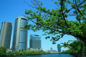 新緑 水都大阪
