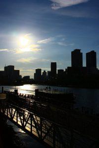 天満橋の風景