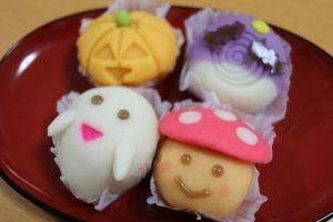 ハロウィンの和菓子