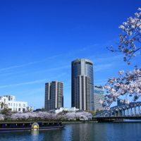 水都大阪の春