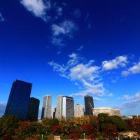 青空と大阪ビジネスパーク