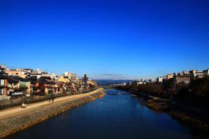 京都 四条 鴨川