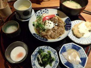 牛すき煮豆腐