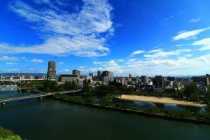 都島区の風景
